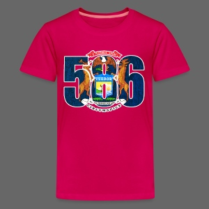 586 Michigan Flag - Kids' Premium T-Shirt