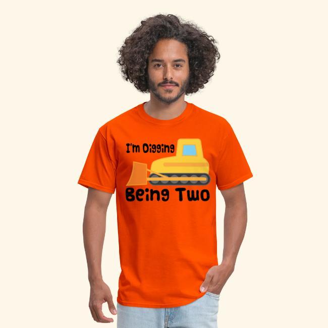 2nd Birthday T Shirt Bulldozer