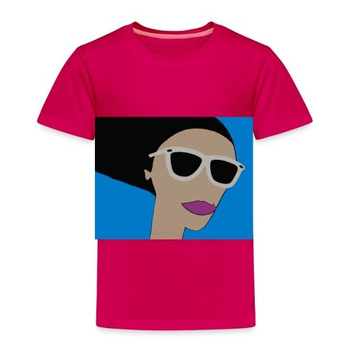 Girl in the Wind - Toddler - Toddler Premium T-Shirt