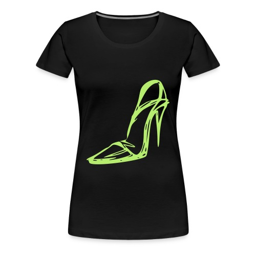 High Heel Fitted - Women's Premium T-Shirt