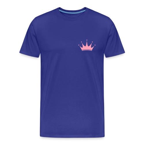 Short Sleeve Queen Skinny Tee - Men's Premium T-Shirt
