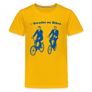 Kids' Shirts ~ Kids' Premium T-Shirt ~ Swedes On Bikes Kids T-Shirt