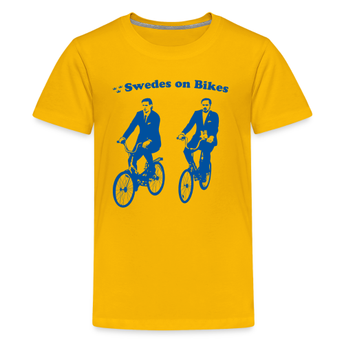 Swedes On Bikes Kids T-Shirt - Kids' Premium T-Shirt