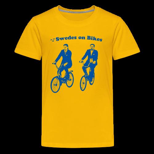 Swedes On Bikes Kids T-Shirt - Kids' Premium T-Shirt