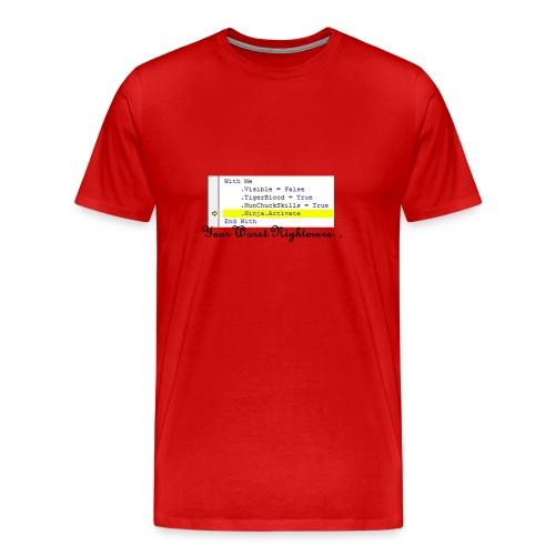 Ninja Activate Excel VBA - Men's Premium T-Shirt
