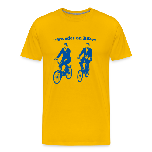 Swedes On Bikes Men's T-Shirt - Men's Premium T-Shirt
