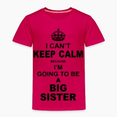 ....i am going to be a Big Sister Baby & Toddler Shirts