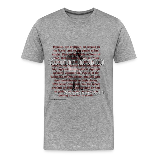 Armour of God - Men's Premium T-Shirt