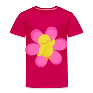Easter Chick Flower Baby & Toddler Shirts - Toddler Premium T-Shirt
