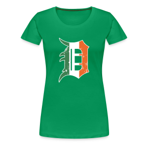 IRISH D - Women's Premium T-Shirt