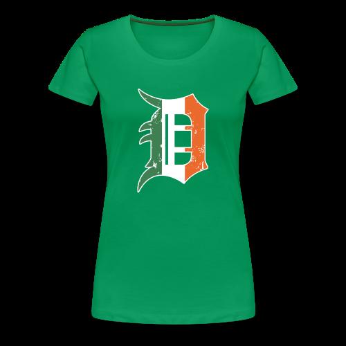 IRISH D - Women's Premium T-Shirt
