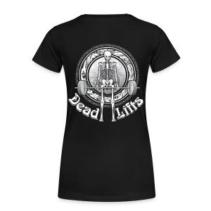 Dead Lifts Women's Plus-Size BACK - Women's Premium T-Shirt