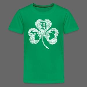 Detroit Michigan Ireland Shamrock - Kids' Premium T-Shirt