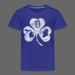 Detroit Michigan Ireland Shamrock - Toddler Premium T-Shirt