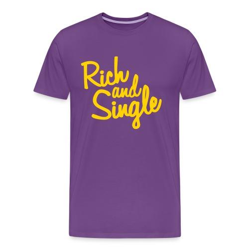 RichAndSingle - Men's Premium T-Shirt