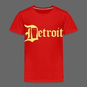 Detroit Pint City - Toddler Premium T-Shirt