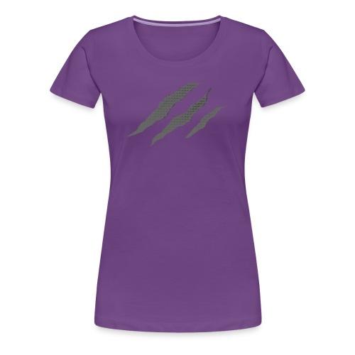 WOLFOUS - SCAR - WOMENS - Women's Premium T-Shirt