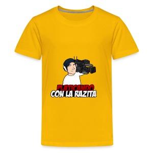 Platicando con la Razita - Kids' Premium T-Shirt