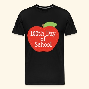 100th Day Of School Mens T-shirt - Men's Premium T-Shirt