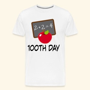 100th Day Of School Teacher T-shirt - Men's Premium T-Shirt