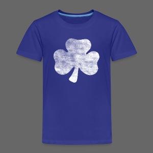 Distressed Vintage Irish Shamrock - Toddler Premium T-Shirt
