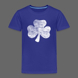 Distressed Vintage Irish Shamrock - Toddler Premium T-Shirt