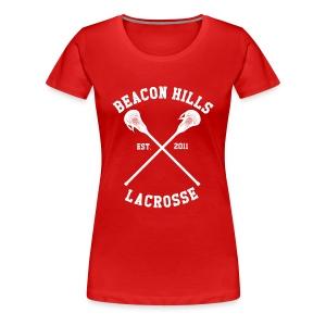 Beacon Hills Lacrosse - Girly (Scott) - Women's Premium T-Shirt