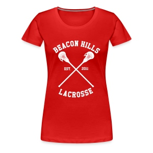 Beacon Hills Lacrosse - Girly (Scott) - Women's Premium T-Shirt