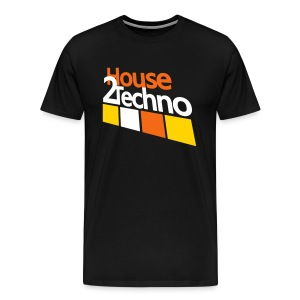 House2Techno - Men's Premium T-Shirt