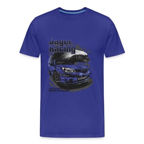 Men's Fierce Badger - Men's Premium T-Shirt