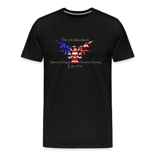 2nd Amendment Homeland Security - Men's Premium T-Shirt