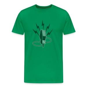 Mircophone - Men's Premium T-Shirt