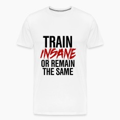 TrainInsane GymWear T-Shirts