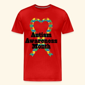 Autism Awareness Month Mens T-shirt - Men's Premium T-Shirt