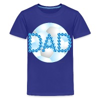 Soccer Dad Blue - Kids' Premium T-Shirt