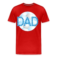 Soccer Dad Blue - Men's Premium T-Shirt