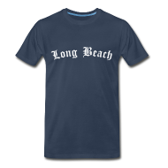 T-Shirts ~ Men's Premium T-Shirt ~ Long Beach T-Shirt