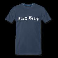 T-Shirts ~ Men's Premium T-Shirt ~ Long Beach T-Shirt