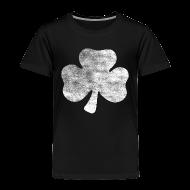 Baby & Toddler Shirts ~ Toddler Premium T-Shirt ~ Distressed Irish Shamrock