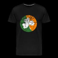 T-Shirts ~ Men's Premium T-Shirt ~ Grunge Shamrock