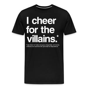 Villains (Men, 3XL-4XL) - Men's Premium T-Shirt