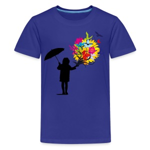 The blooming after Rain Kids' Shirts - Kids' Premium T-Shirt