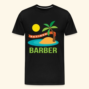Retired Barber Mens T-shirt - Men's Premium T-Shirt