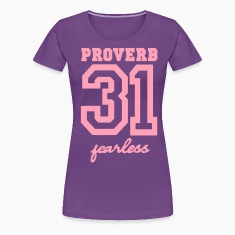PROVERB 31 FEARLESS Women's T-Shirts