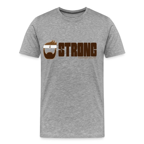 Blog of Manly Values T-Shirt: Strong - Men's Premium T-Shirt