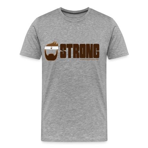 Blog of Manly Values T-Shirt: Strong - Men's Premium T-Shirt