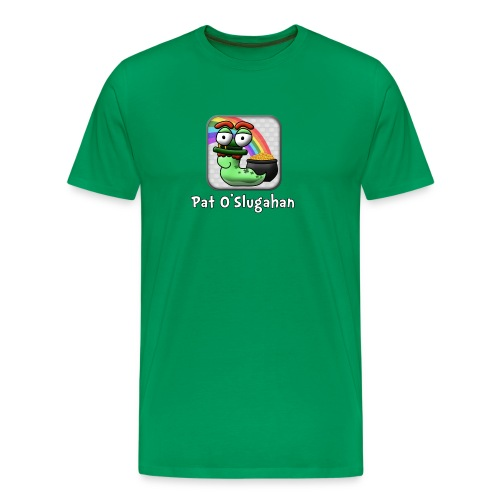 Word Slug St Patrick's Day Shirt - Men's Premium T-Shirt