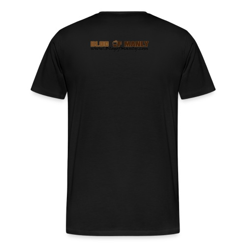 Blog of Manly Logo T-Shirt - Men's Premium T-Shirt