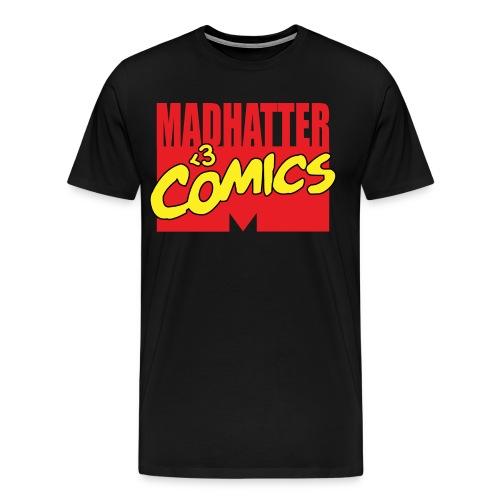 MadHatter Loves Comics 3-4X - Men's Premium T-Shirt