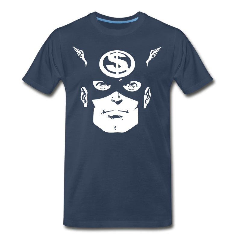 Cap'n Merca 3-4X - Men's Premium T-Shirt